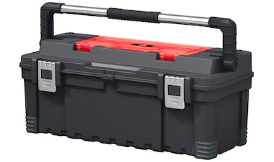 KETER Werkzeugkasten »Hawk«, 66x29x27 cm, 26 Zoll, 35,6 l Fassungsvermögen kaufen