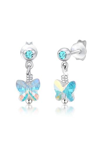 Elli Paar Ohrhänger »Kinder Schmetterling Kristall 925 Silber« kaufen