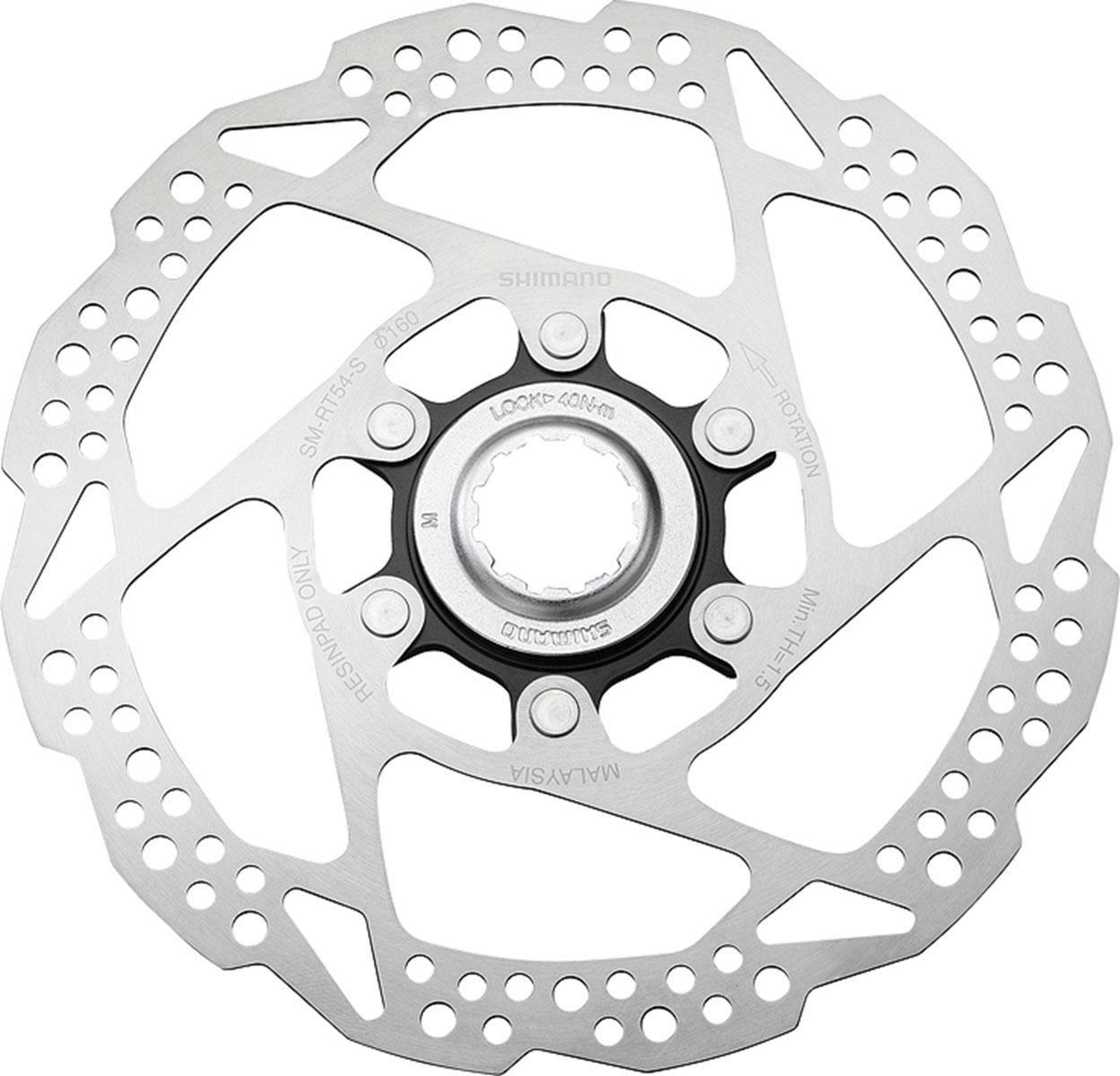 Shimano Bremsscheibe SM-RT54S (1-tlg) Technik & Freizeit/Sport & Freizeit/Fahrräder & Zubehör/Fahrradzubehör/Fahrradteile/Fahrradbremsen