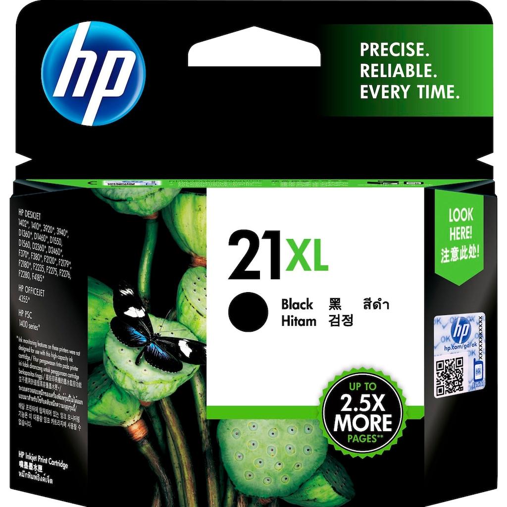 HP Tintenpatrone »hp 21XL Original Schwarz«, (1 St.)