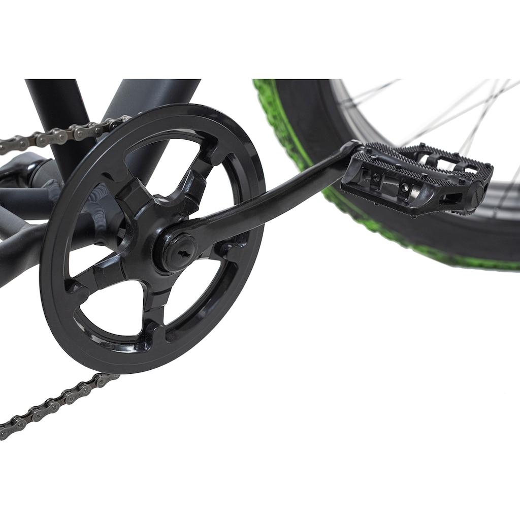 KS Cycling Fatbike »Crusher«, 7 Gang, Shimano, Tourney Schaltwerk, Kettenschaltung