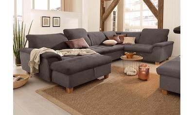 Home affaire Wohnlandschaft »Lyla«, wahlweise mit Rückenfunktion und zusätzlich mit... kaufen