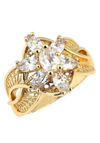 Der Herr der Ringe Fingerring »Arwens Abendstern Filigran -  gelbgoldfarben, 20003783« kaufen