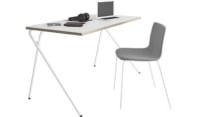 Müller SMALL LIVING Sekretär »PLATO Two«, weißes Gestell, Home Office minimal, einfach... kaufen