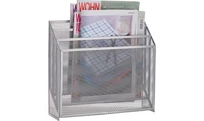 Zeller Present Zeitungsständer »Mesh« kaufen