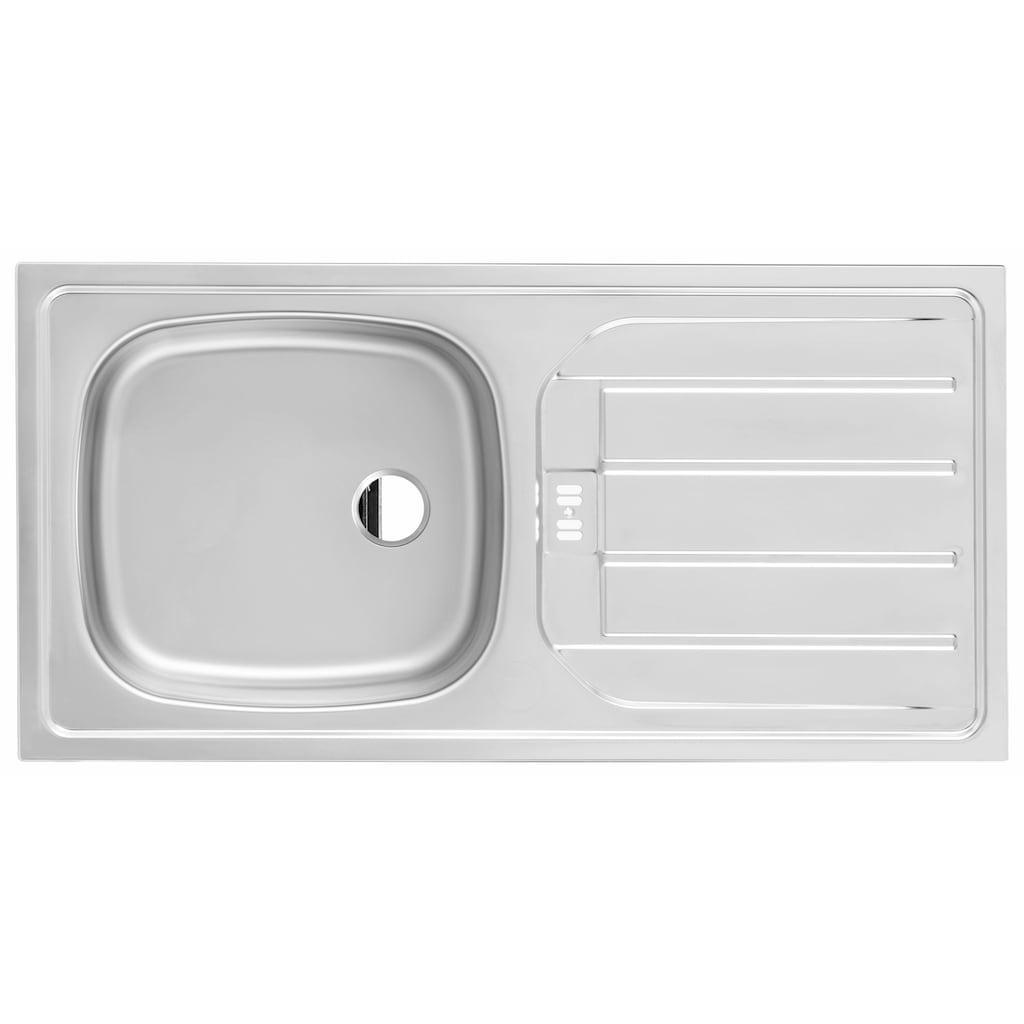 HELD MÖBEL Küchenzeile »Samos«, mit E-Geräten, Breite 280 cm