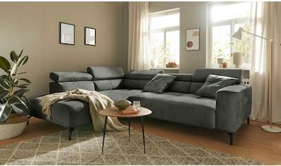 Mr. Couch Ecksofa »Linus«, 5 Jahre Hersteller-Garantie auf Kaltschaumpolsterung,... kaufen