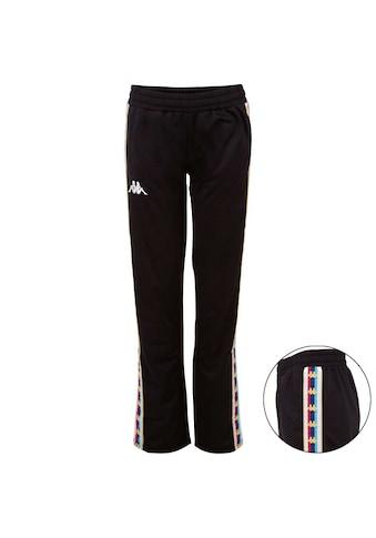 Kappa Trainingshose »AUTHENTIC VALETTA«, mit mehrfarbigem Logoband am Bein kaufen