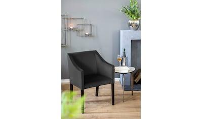 Fink Armlehnstuhl »MARTIN«, mit schmalen, schwarzen Beinen kaufen