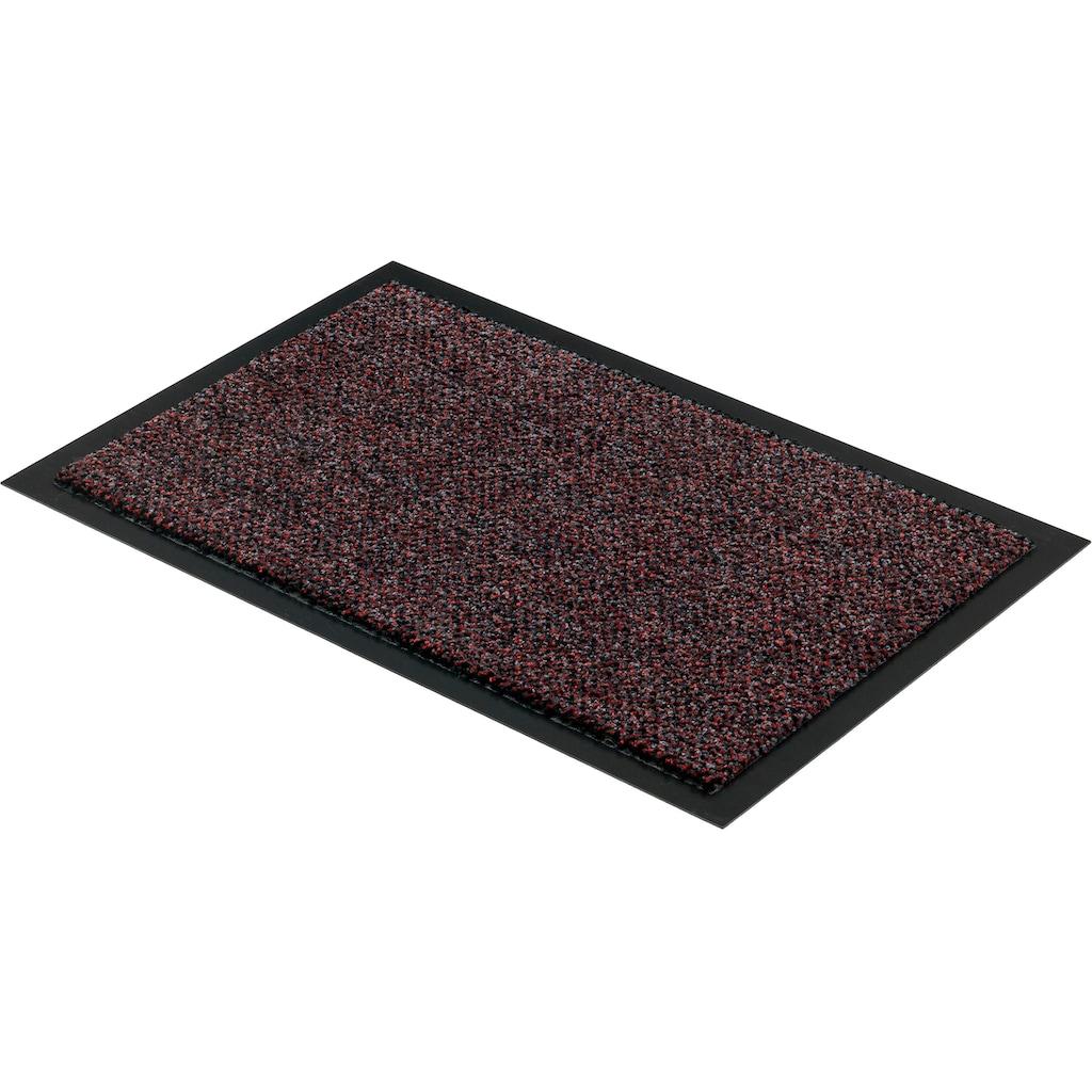 ASTRA Fußmatte »Graphit 635«, rechteckig, 8 mm Höhe, Schmutzfangmatte, In -und Outdoor geeignet