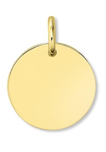 ONE ELEMENT Kettenanhänger »Anhänger aus 333 Gelbgold« kaufen