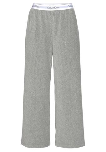 Calvin Klein Loungehose, in Rippenstruktur mit Wäschebund kaufen