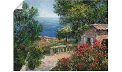 Artland Wandbild »Toskana I«, Europa, (1 St.), in vielen Größen & Produktarten - Alubild / Outdoorbild für den Außenbereich, Leinwandbild, Poster, Wandaufkleber / Wandtattoo auch für Badezimmer geeignet kaufen