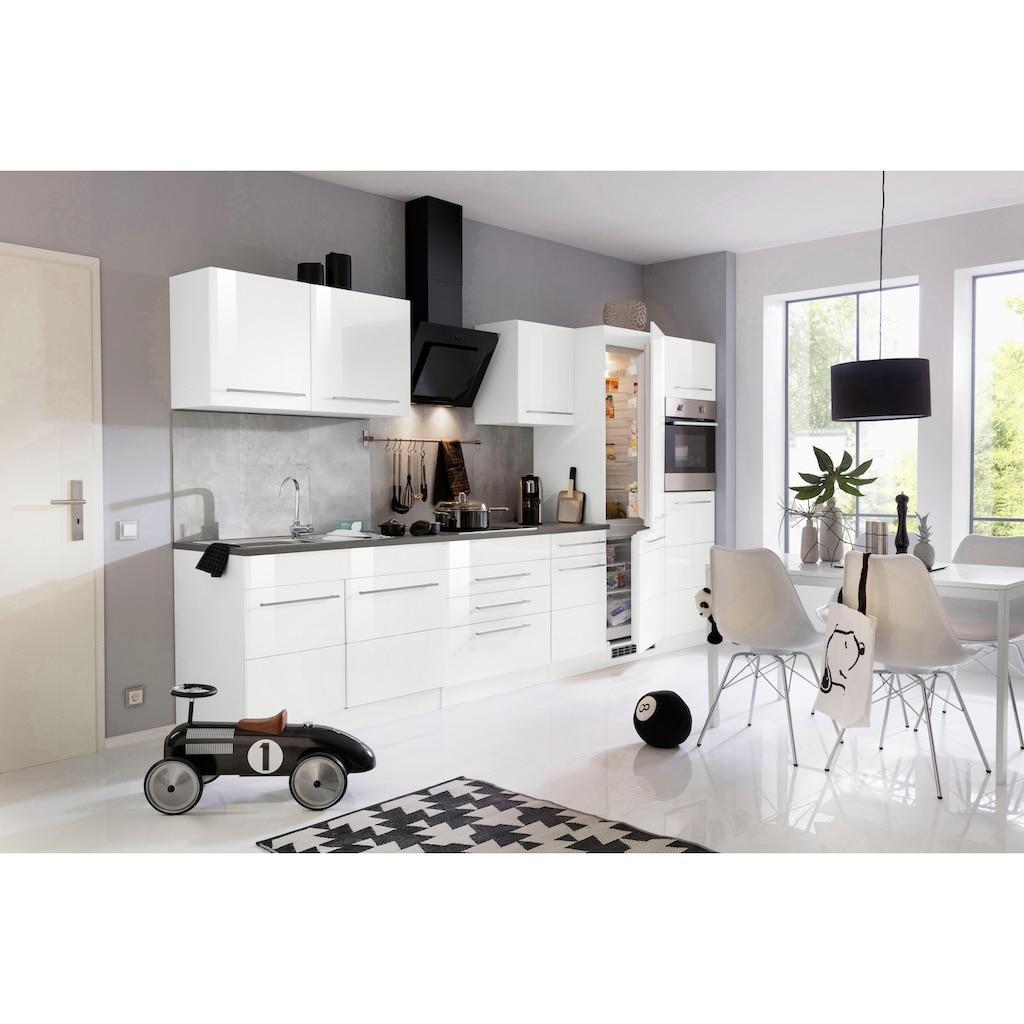 HELD MÖBEL Küchenzeile »Trient«, ohne E-Geräte, Breite 350 cm