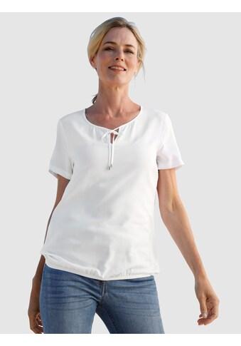Dress In Schlupfbluse, in fließender Qualität kaufen