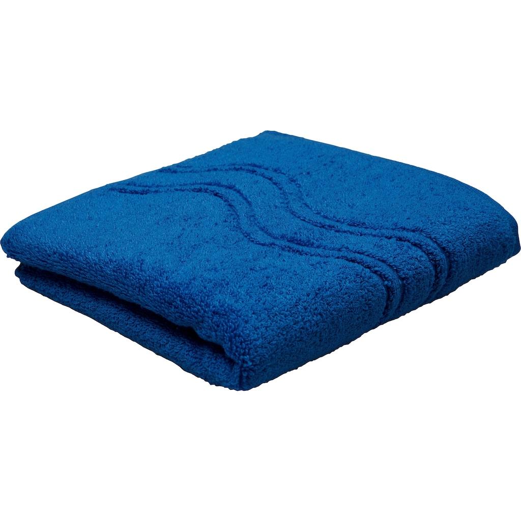 ROSS Handtuch »Cashmere«, (2 St.), mit Wellenbordüre