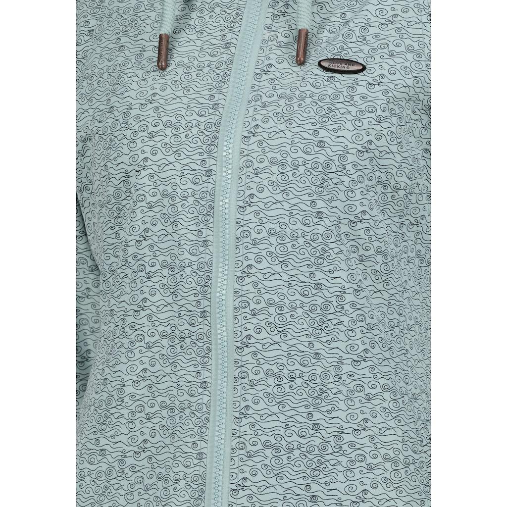Alife & Kickin Outdoorjacke »LilouAK«, sportive Jacke mit Allover-Print