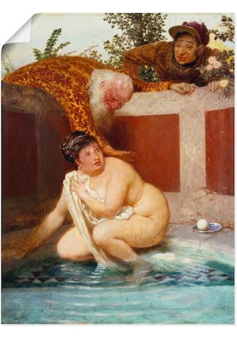 Artland Wandbild »Susanna im Bade. 1888« kaufen
