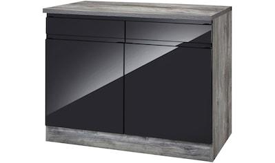 HELD MÖBEL Unterschrank »Virginia«, 100 cm breit, mit 2 Türen und 2 Schubkästen kaufen
