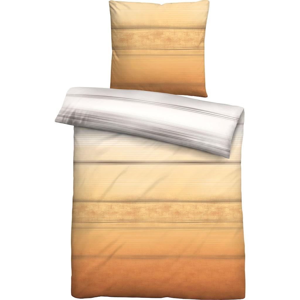Castell Bettwäsche »Kimi«, mit eleganten Streifen