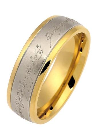 Der Herr der Ringe Fingerring »Der Eine Ring  -  Edelstahl bicolor, 20002165« kaufen