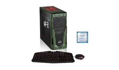 Hyrican Gaming PC i7 - 8086K 16GB 240GB SSD, HDD + Optane, GTX 1070 Ti »Military Anniversary 5988« kaufen