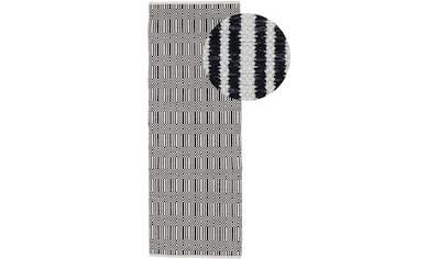 carpetfine Läufer »Kelim Oregan«, rechteckig, 5 mm Höhe, Wendeteppich aus reiner Baumwolle kaufen