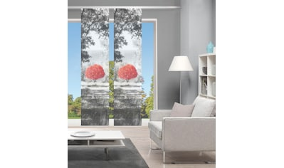 Vision Schiebegardine »AMENO 2er SET«, Bambus-Optik, Digital bedruckt kaufen