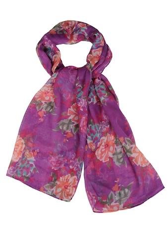 Silvio Tossi Modeschal, mit floralem Muster kaufen