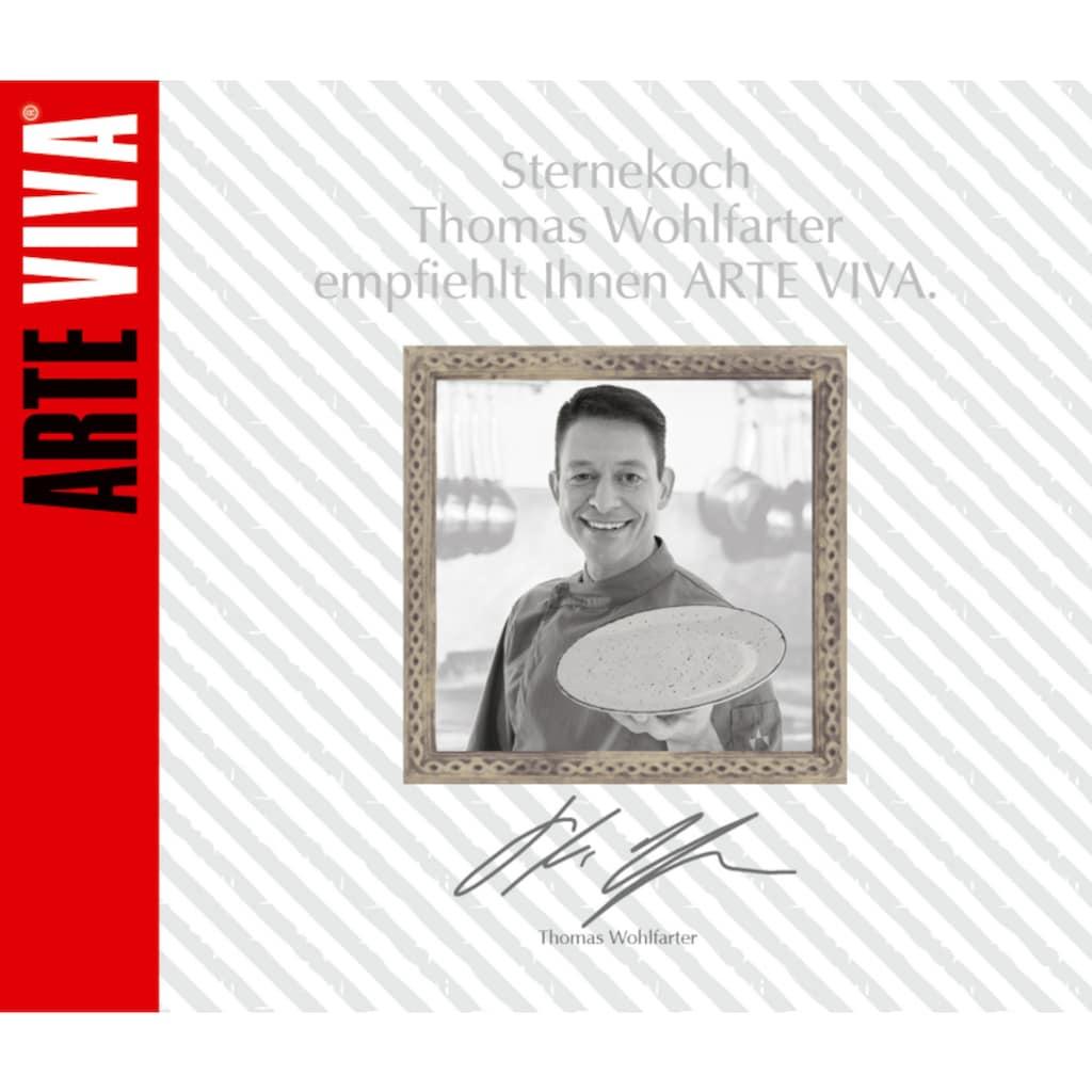 ARTE VIVA Kombiservice »Puro«, (Set, 32 tlg.), perlweiß, von Sternekoch Thomas Wohlfarter empfohlen