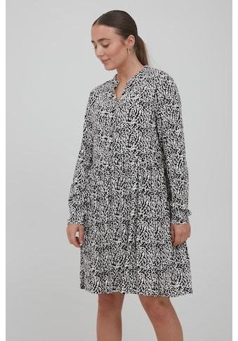 Ichi Sommerkleid »IHVERA DR4 20114604«, Blusenkleid mit Muster kaufen