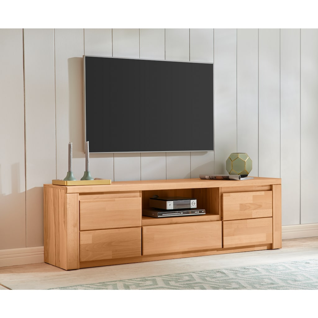 Premium collection by Home affaire Lowboard »Burani«, grifflose Optik, Fernsehtisch