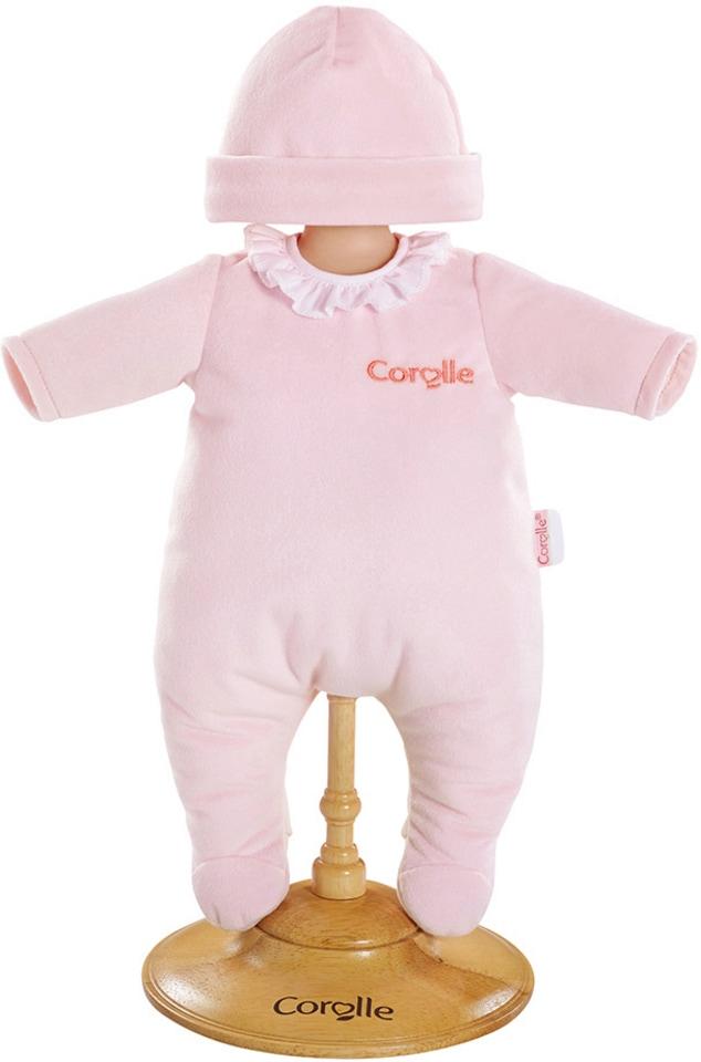 Corolle Puppenschlafanzug mit Mütze Größe 36 cm BB36 rosa Kindermode/Spielzeug/Puppen/Babypuppen