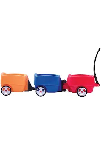 Step2 Bollerwagen »Choo Choo«, mit 2 Anhängern, BxLxH: 50x136x97 cm kaufen