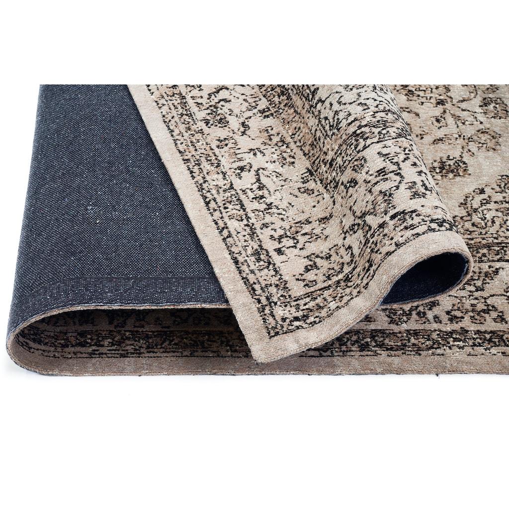 GALLERY M Teppich »Bordüre«, rechteckig, 5 mm Höhe, Flachgewebe, Chenille, Wohnzimmer