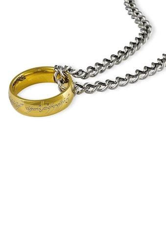 Der Herr der Ringe Kette mit Anhänger »Der Eine Ring an Kette, 10004025« kaufen