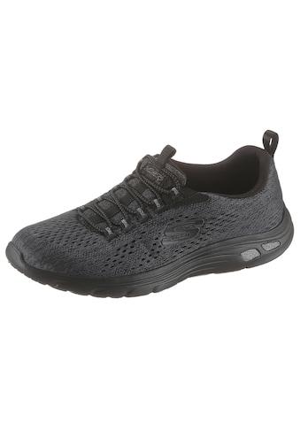 Skechers Slip-On Sneaker »Empire D´Lux«, mit Kontrast-Streifen an der Sohle kaufen