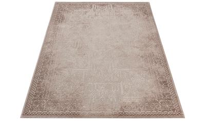 Sehrazat Teppich »Amatis 6640«, rechteckig, 12 mm Höhe, Hoch-Tief-Struktur, Wohnzimmer kaufen