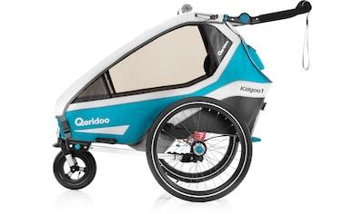Qeridoo Fahrradkinderanhänger »KIDGOO 1« kaufen