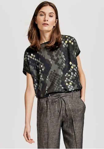 OPUS Blusenshirt »Sanima print« kaufen