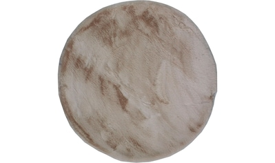 Dekowe Fellteppich »Roger«, rund, 20 mm Höhe, Kunstfell, Kaninchenfell-Haptik, ein... kaufen