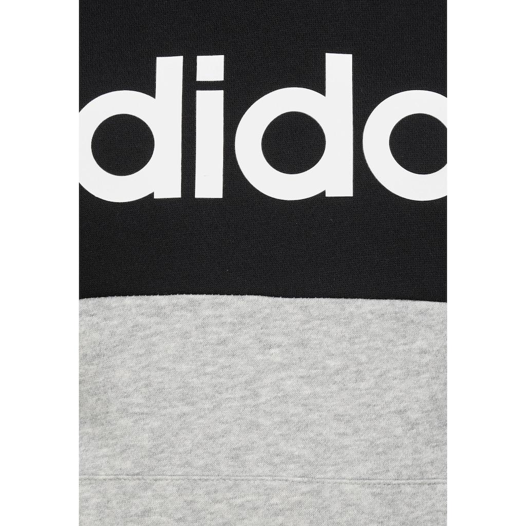 adidas Performance Hoodie »LINEAR COLORBLOCK HOODED FLEECE«
