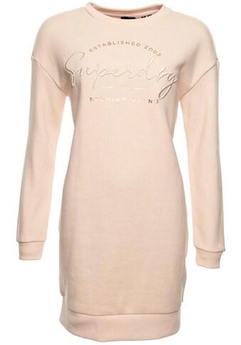 Superdry Sweatkleid »ESTABLISHED CREW SWEAT DRESS« kaufen