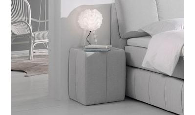 INOSIGN Nachttisch »Flora«, mit Glasplatte kaufen