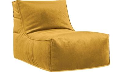 Sitting Point Sitzsack »Rock VELUTO«, Samt kaufen