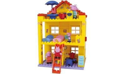 BIG Konstruktions-Spielset »BIG-Bloxx Peppa Pig, Peppa House«, (107 St.) kaufen