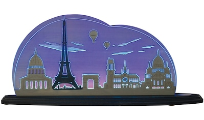 Weigla LED Dekolicht »Ich liebe Paris«, 1 St., Neutralweiß, beidseitiges Motiv/ Motiv... kaufen