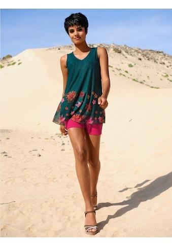 Alba Moda Strandshirt im Layerlook kaufen