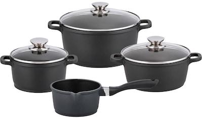 Elo Topf-Set »Alucast«, Aluminiumguss, (Set, 7 tlg.), Induktion kaufen