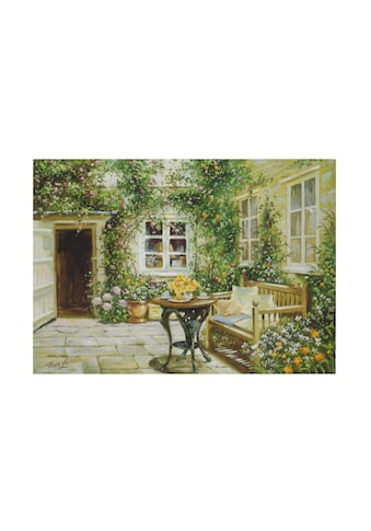 Home affaire Wandbild »Courtyard tranquility«, 70/50 cm kaufen